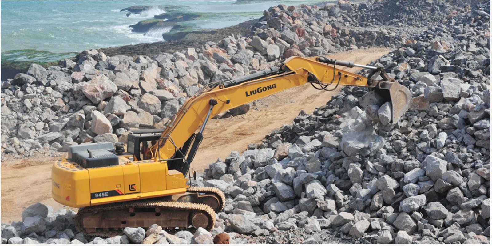 Máy xúc đào LiuGong 950E