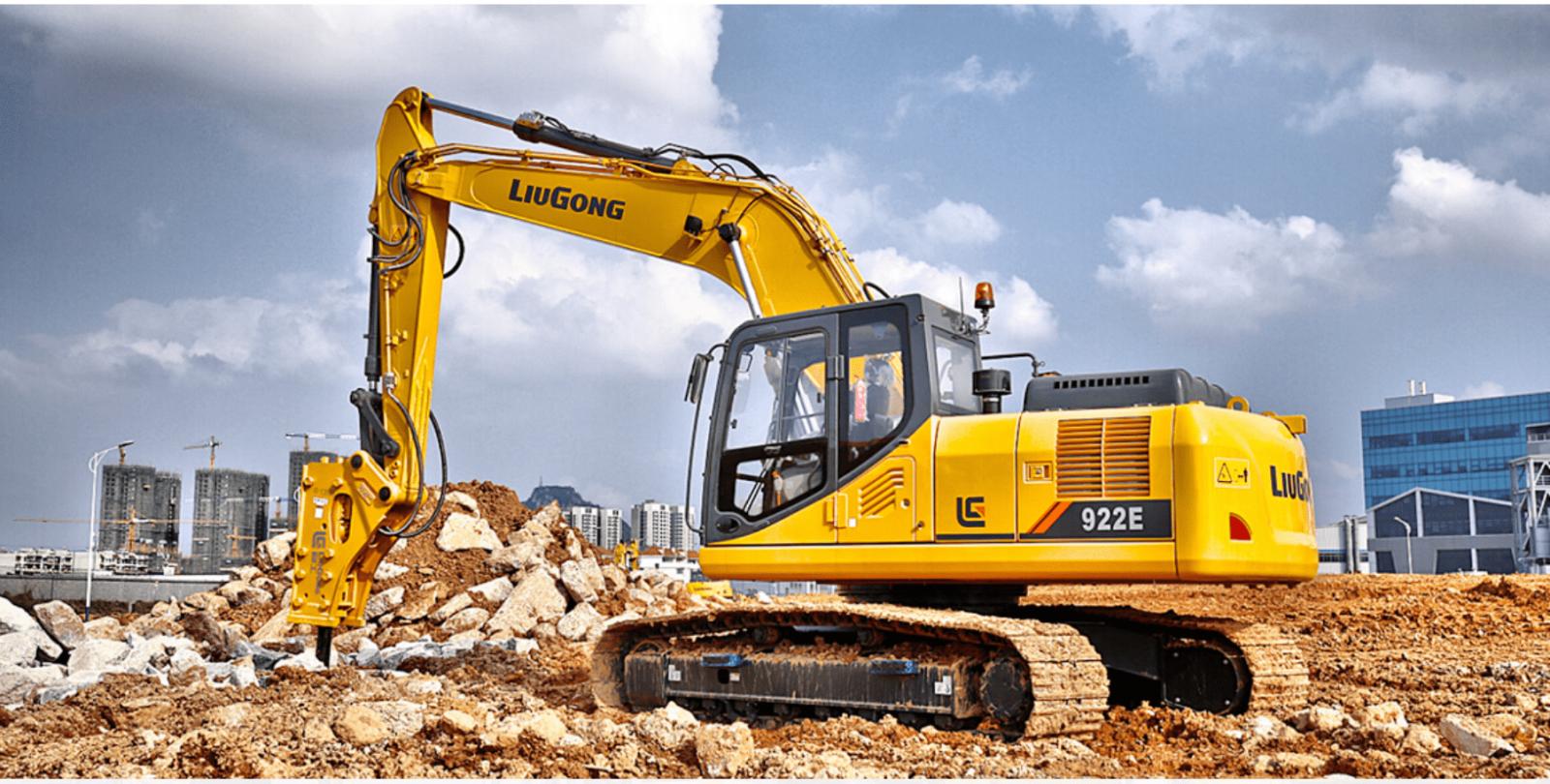 Xúc đào LiuGong CLG922E