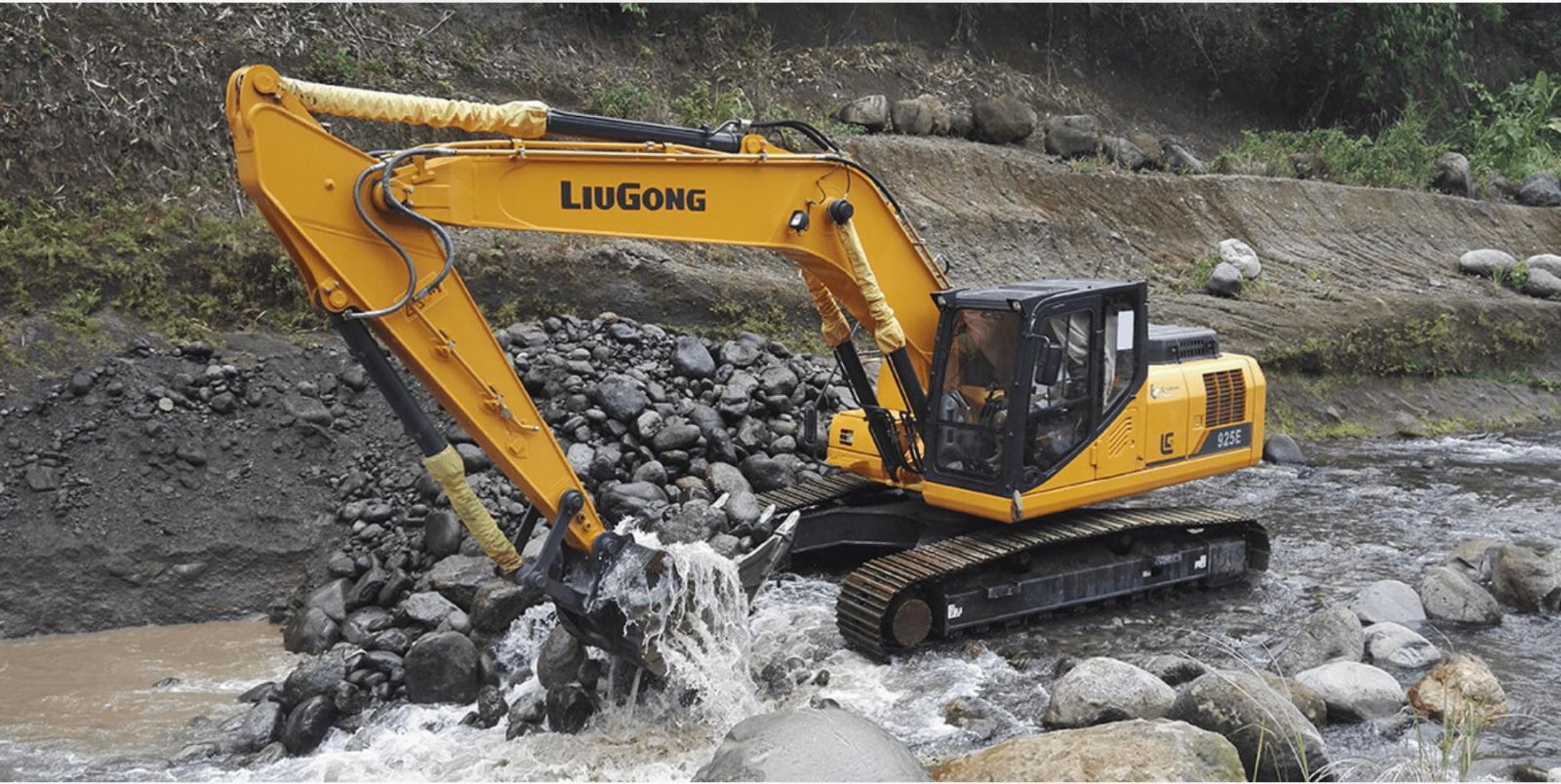 Xúc đào LiuGong CLG925E